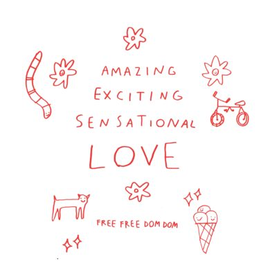 Amazing exciting sensational Love Ep cover